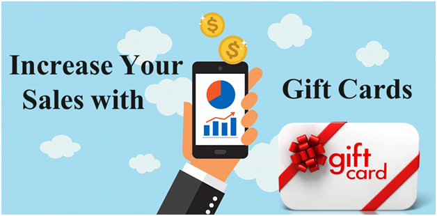Increase Your Sales with Gift Cards